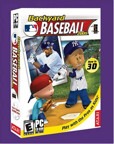 backyard baseball computer game backyard baseball 2005