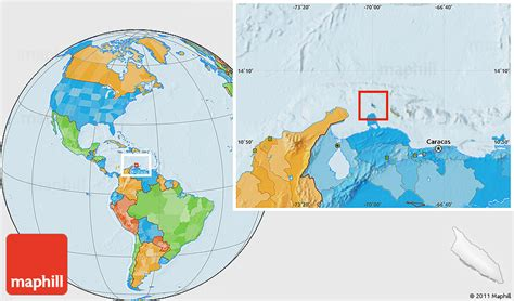 aruba world map flag location map of aruba political outside