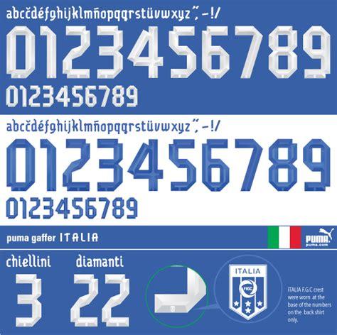 Custom Font Nameset Argentina World Cup 2006 gaffer italia 2012 13 png 586 215 584 font design