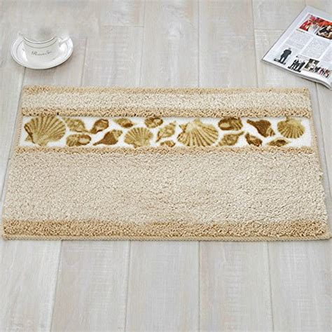 Pretty Bathroom Rugs Sytian 174 Decorative Soft Floral Pretty Bathroom Rugs