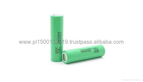 Samsung Icr18650 22fu Lithium Ion Battery 3 7v 2200mah 14 Days li ion battery samsung 18650 icr18650 22f 2200mah 3 7v samsung china manufacturer battery