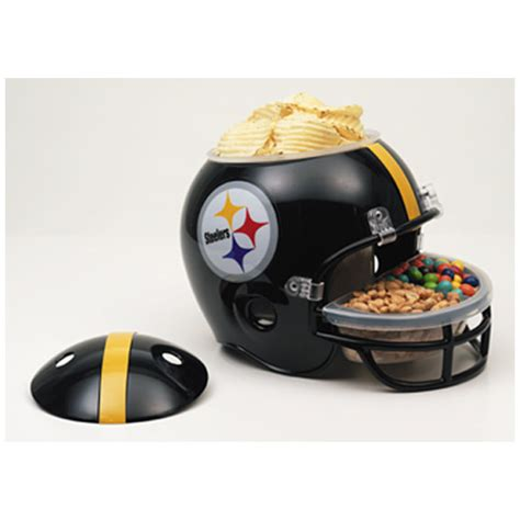 holiday gift guide pittsburgh steelers snack helmet