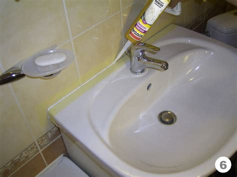 how to caulk a bathroom sink how to replace the grout around the bathtub and sink with