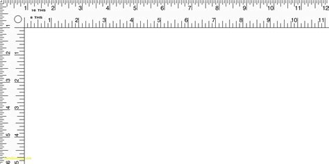 printable paper ruler printable l ruler printable sewing ruler elegant best l