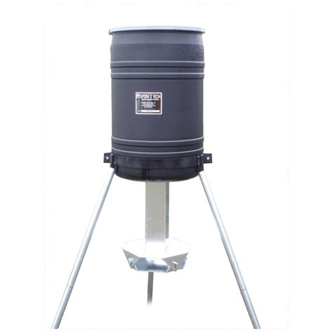Spin Feeder spin tech 174 30 gallon capacity protein feeder 142866 feeders at sportsman s guide