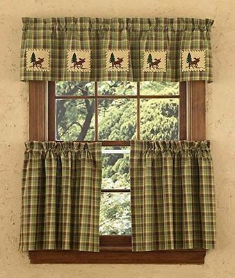 kitchen tier curtains shop everything log homes