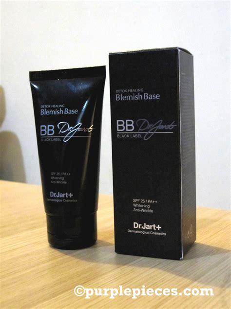 Dr Jart Black Label Detox Healing Bb Spf25 Pa by Review Dr Jart Black Label Bb