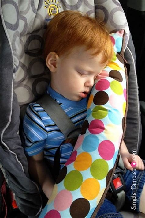 Car Seat Belt Pillow 30 easy adorable sewing projects for beginners