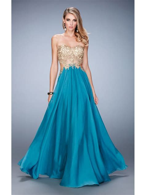 prom dresses nottingham formal dresses gold lace appliques bodice chiffon long prom dresses party