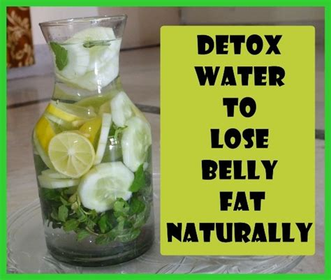 Ab Detox Water by Detox Water To Lose Belly Naturally