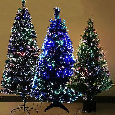 fiber optic christmas tree 5ft luxury fiber optic 3ft 4ft 5ft 6ft tree multi color light green black