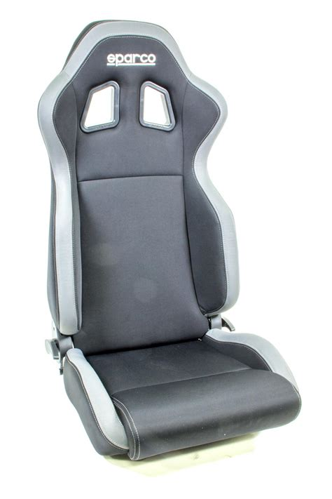 sparco reclining seats sparco 00961nrgr seat r100 reclining side bolsters