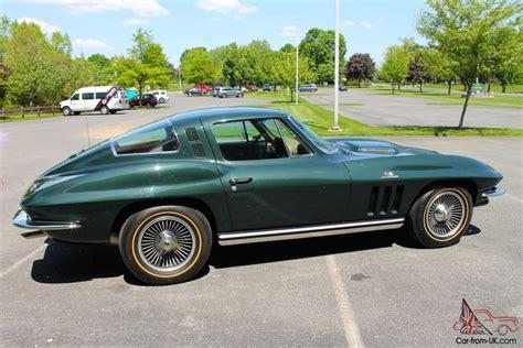 Wheels Classics 1965 Corvette Green 1965 chevrolet corvette 396 425 hp