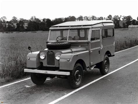 pictures of land rover series i 86 station wagon 1954 57