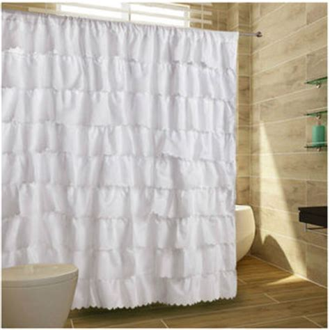 gypsy ruffled shower curtain best ruffle shower curtain products on wanelo