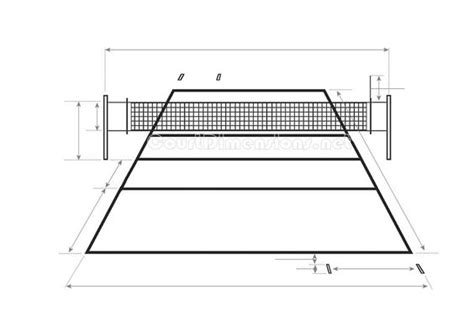 backyard volleyball court dimensions volleyball court dimensions outside living pinterest