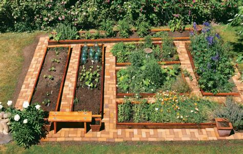 How To Build A Vegetable Garden Bed Hochbeet Im Garten Eine Sch 246 Ne Gartengestaltungsidee