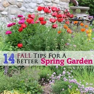 14 fall tips for a better spring garden