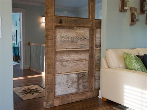 how to build a wood with doors how to build a reclaimed wood sliding door how tos diy