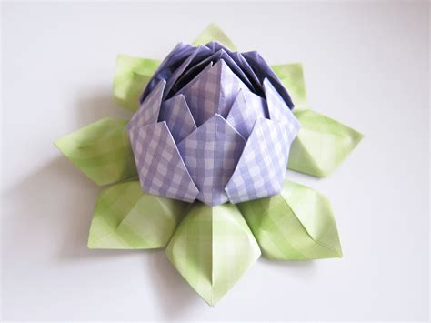 Lotus Origami - origami lotus flower tutorial cozy conspiracy