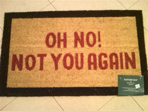oh not you again rug home accessories at neaco in blowing rock
