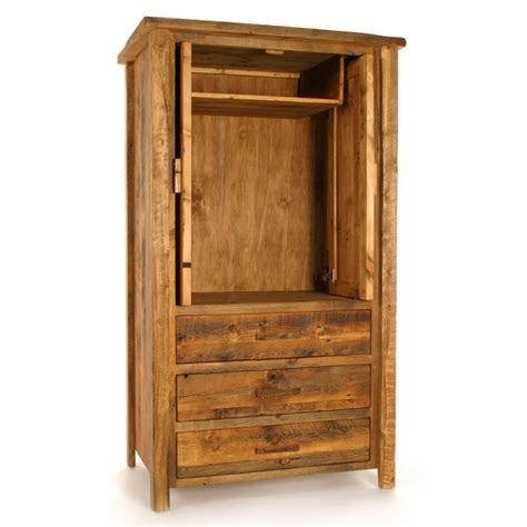 Reclaimed Wood Armoire by Colorado Reclaimed Wood Armoire