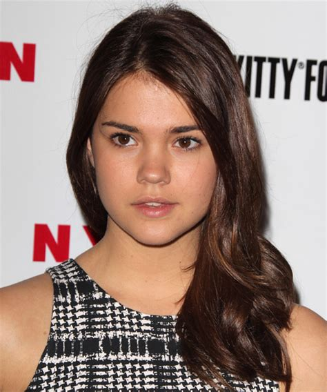 mia mitchell haircut maia mitchell long straight casual hairstyle medium