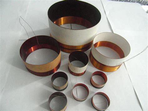 Speaker Coil china speaker part kapton asv glass fiber voice coil
