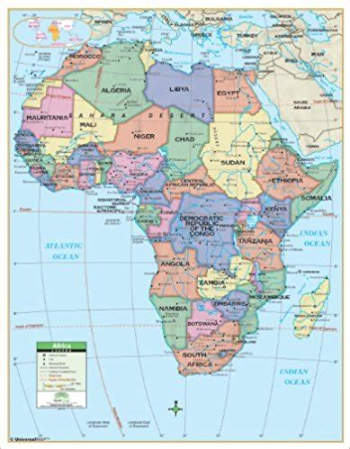 africa map with latitude and longitude usa contiguous latitude and longitude activity printout 1