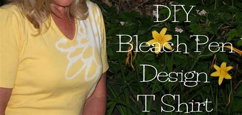 design t shirt with bleach diy bleach pen t shirt design the renegade seamstress