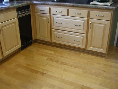 Birch Cabinets Pros And Cons by Hardwood Floors For Kitchen Pros Cons Photos