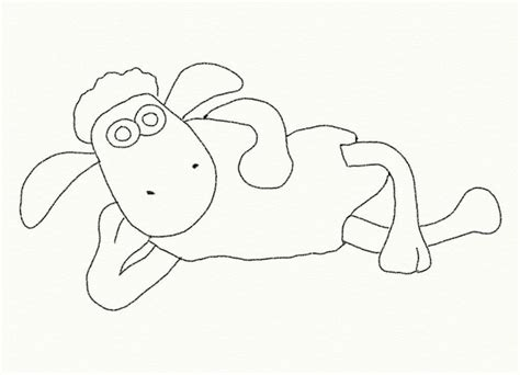 free coloring pages of shaun the sheep