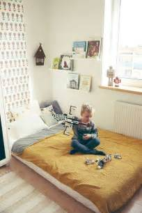 Frame For Bed On The Floor 1000 Ideas About Toddler Floor Bed On Floor Beds Montessori Bedroom And Black House