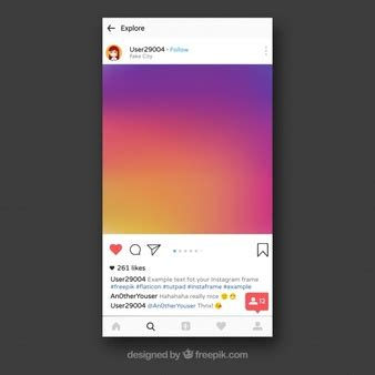 Instagram Frame Vectors Photos And Psd Files Free Download Instagram Photo Frame Template