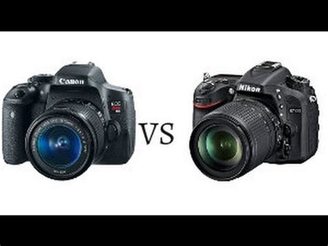 Nikon P900 X Canon T6i by Canon Eos T6i Vs Nikon D5500 Bastian Electro