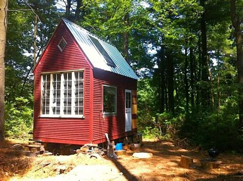 100 Sq Ft Cabin by Tiny House Talk Builds 100 Sq Ft Timber Frame Tiny