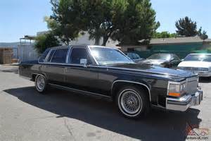 1986 Cadillac Fleetwood For Sale 1986 Cadillac Fleetwood Brougham Automatic 8 Cylinder No