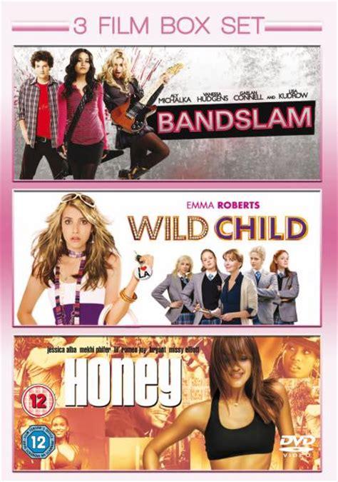 cowboy film box set 3 film box set bandslam wild child honey dvd zavvi com