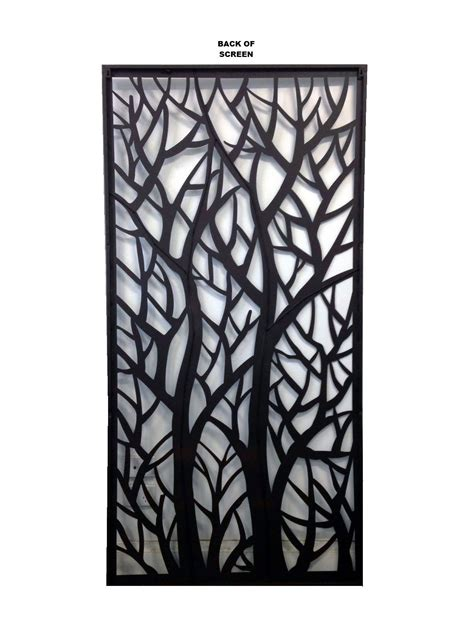 decorative outdoor screens deco metal screens wall art garden screens autumn