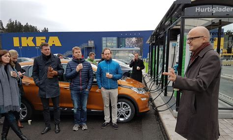 ikea charging station all ikea locations in to feature ev fast charging