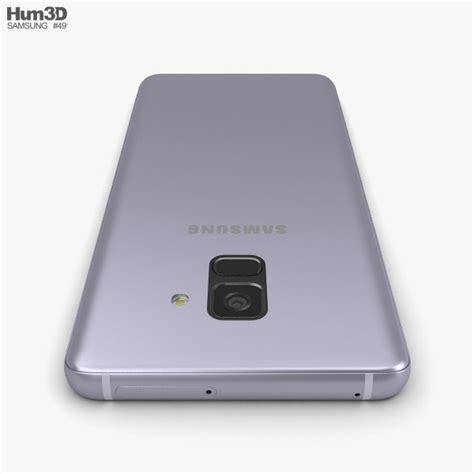Samsung Galaxy A8 Orchid Gray samsung galaxy a8 2018 orchid grey 3d model hum3d