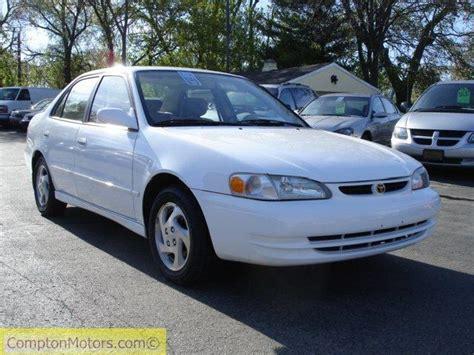 Toyota Corolla 1999 Parts 1999 Toyota Corolla Ce Le Ve 100100 White