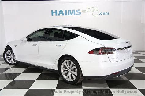 Tesla Model S 60 Kwh Price 2014 Used Tesla Model S 4dr Sedan 60 Kwh Battery At Haims