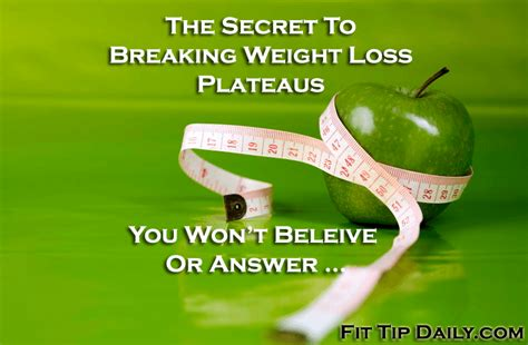 weight loss pictures videos breaking news the real secret to breaking a weight loss plateau fit