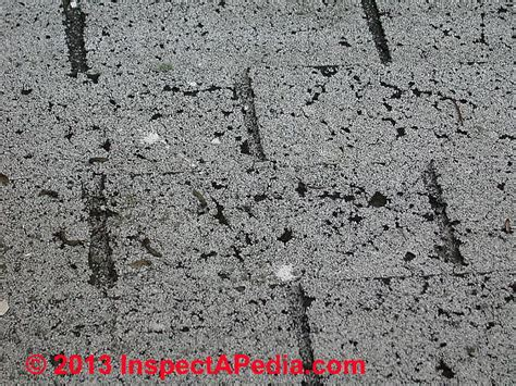 asphalt roof shingle home page contractors claims diagnosis of thermal splitting or cracking asphalt roof shingles