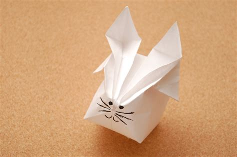 Origami Rabbits - how to make a origami rabbit with pictures wikihow