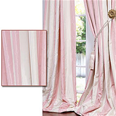 striped pink curtains the green room interiors chattanooga tn interior