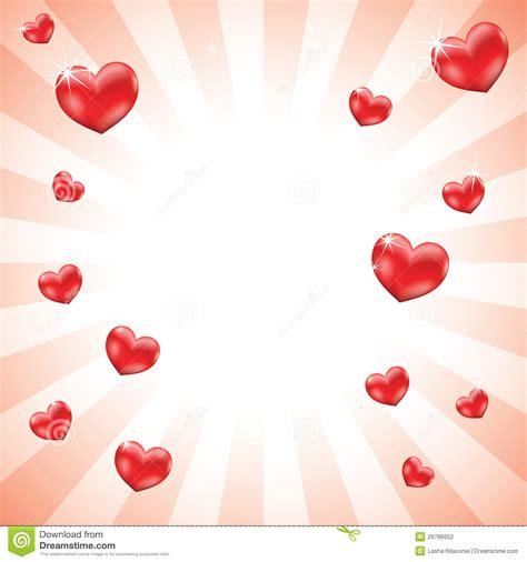 imagenes fondo blanco de amor fondo de los corazones del amor stock de ilustraci 243 n