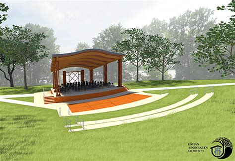 Space Planning Interior Design robbins island amphitheater on the boards finance amp commerce