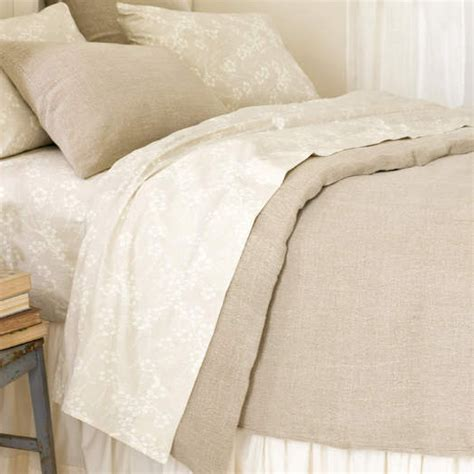 Duvet Cover Linen washed linen duvet cover by pine cone hill